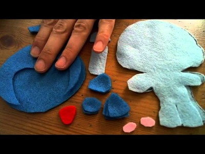 How to make a Chibi Megaman plush tutorial