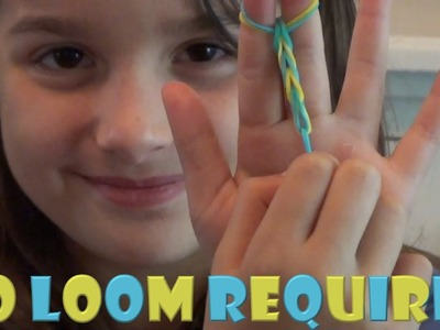 How to Make a Fishtail Bracelet (Basic) | No Loom Required | Tutorial | Acroanna