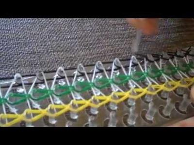 How To Make A FunLoom Single Triple Rubber Band Bracelet