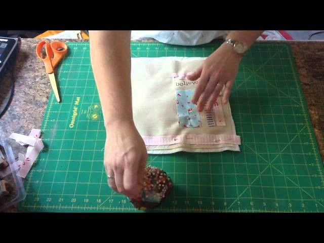 How to make a Mini Memory Quilt by Sally's Angelworks