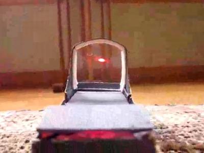 How to Make a Red dot sight. reflex sight