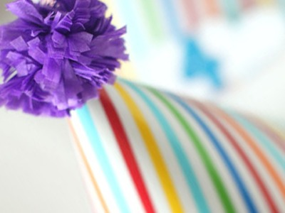 How to make a tissue paper pompom
