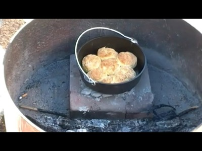 How To Make Biscuits In A Dutch Oven.