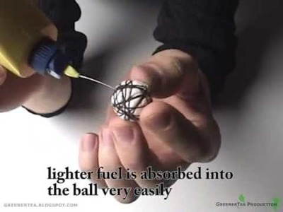 How To Make Fire Balls