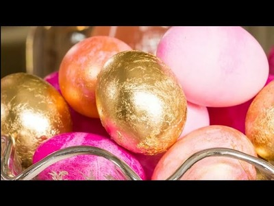 How To Make Gold Leaf Gilded Eggs