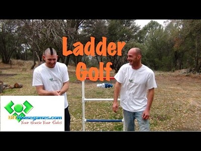 How to make Ladder Golf - DIYHomegames