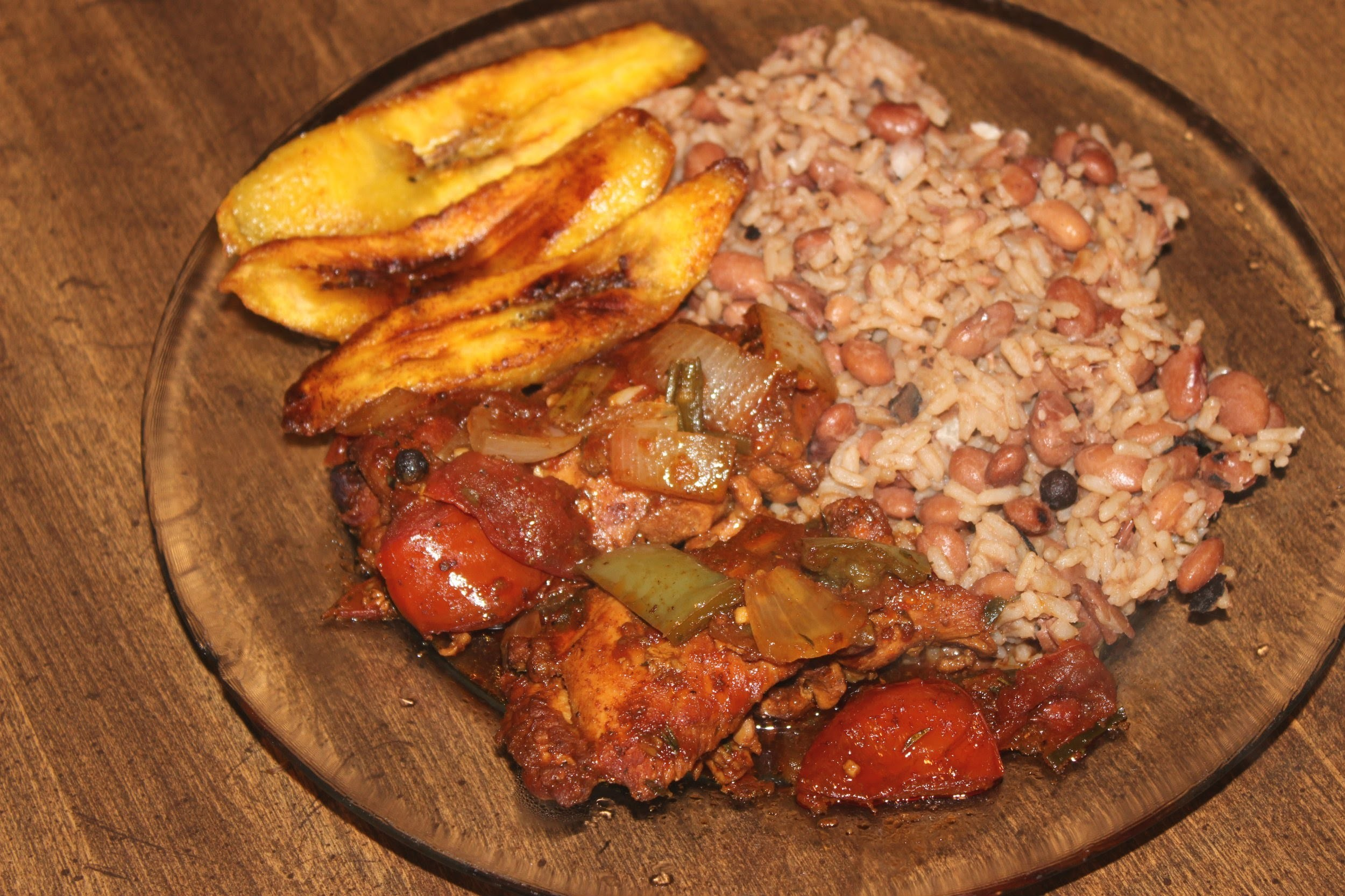how  to make real jamaican stew chicken  jamaican rice