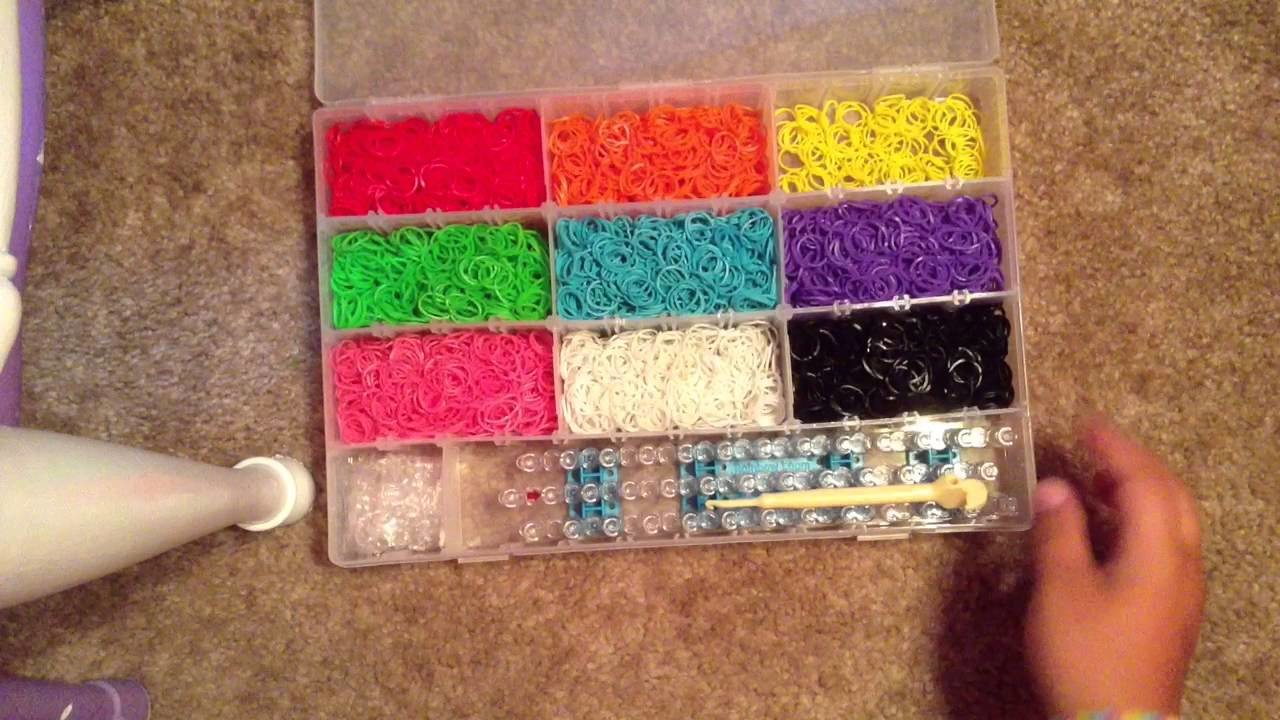 How To Organize Your Rainbow Loom Rubber Bands