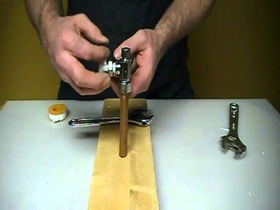 How to repair or replace a leaky compression valve. shut off under your sink.Plumbing Tips!