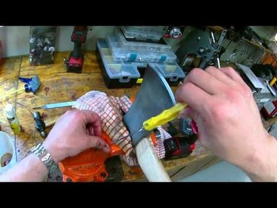 How to sharpen a cheap axe to razor sharp with a file
