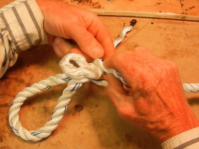 How to Splice a Loop into the End of a Rope for Dummies like me.  I'll never forget
