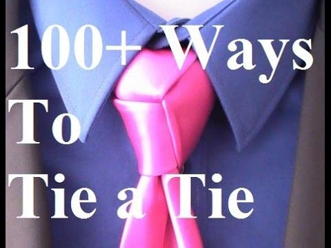 How To Tie a Tie Trinity Knot for your Necktie