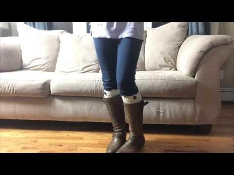 How to wear Boot Cuffs, Boot Socks & Legwarmers