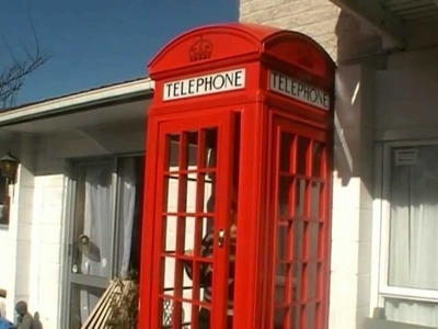How we made our red English telephone booth