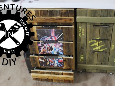 Make Ammo Box Drawer Fronts For A Cabinet