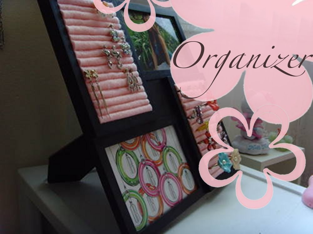 MeiIris' Picture Perfect Jewelry Holder Tutorial