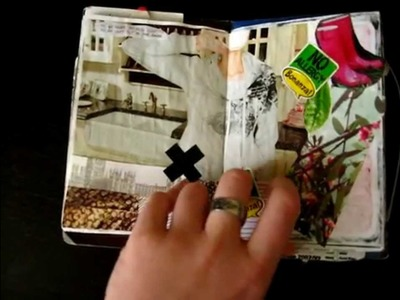 My small, handmade, art  journal (Review)