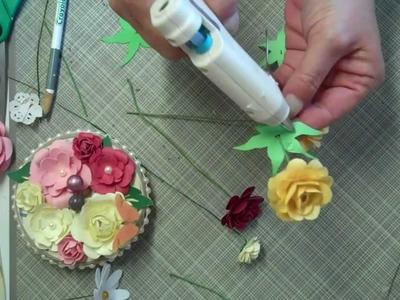 Paper Flower Tutorial 4