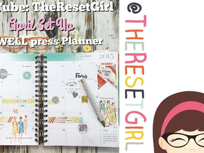 Plan with Me: April Setup for my InkWELL press Planner
