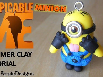 Polymer Clay Despicable Me Minion Charm Tutorial