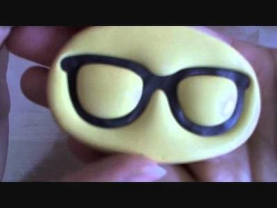 ♥ Polymer Clay Nerdy Glasses Tutorial ♥
