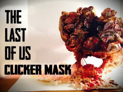 The Last of Us Clicker Mask- How to Make for CHEAP