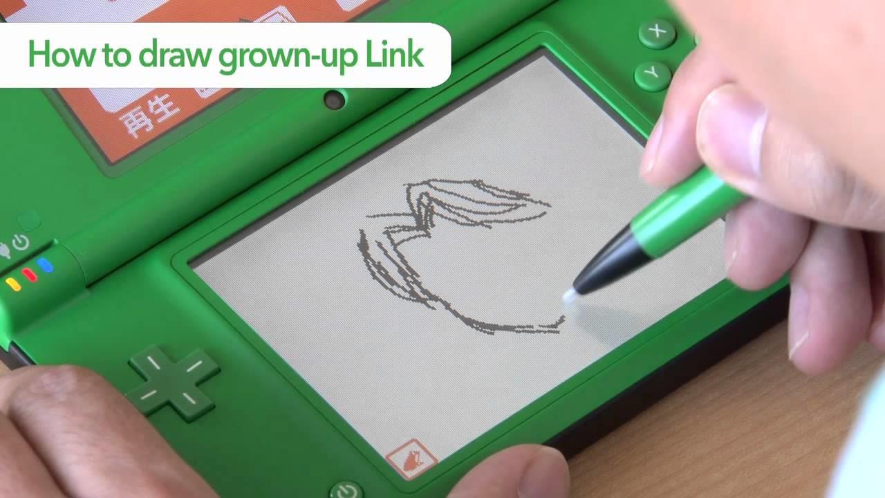 The Legend of Zelda - How To Draw Link Sample