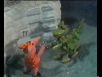 """The Soup Dragon from the Clangers - """"I'm free"""" - by the SOUP DRAGONS"""