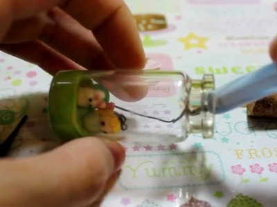Tutorial:  Alice In Wonderland Glass Bottle Charm