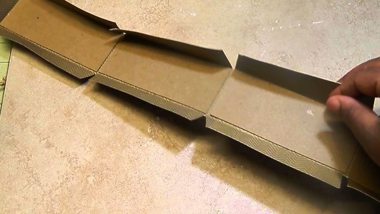 Tutorial: Chipboard Box from Scratch - Any Size