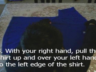 Tutorial: How to Fold a T-shirt in 5 Seconds (Ninja style)