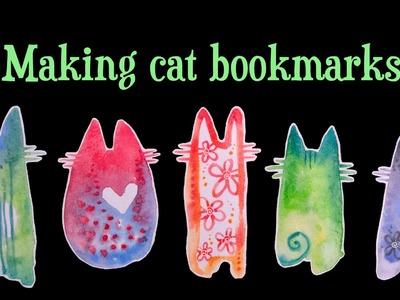 TUTORIAL: Laminated Cat Bookmarks
