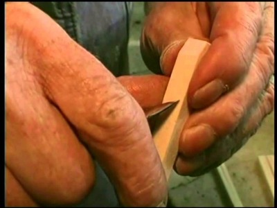 "World's Master Carver, Ernest ""Mooney Warther- Part 2: Making Basswood Pliers with David Warther"