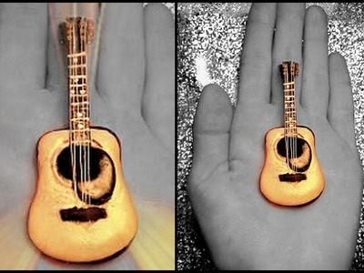 ACOUSTIC GUITAR - Polymer Clay Tutorial
