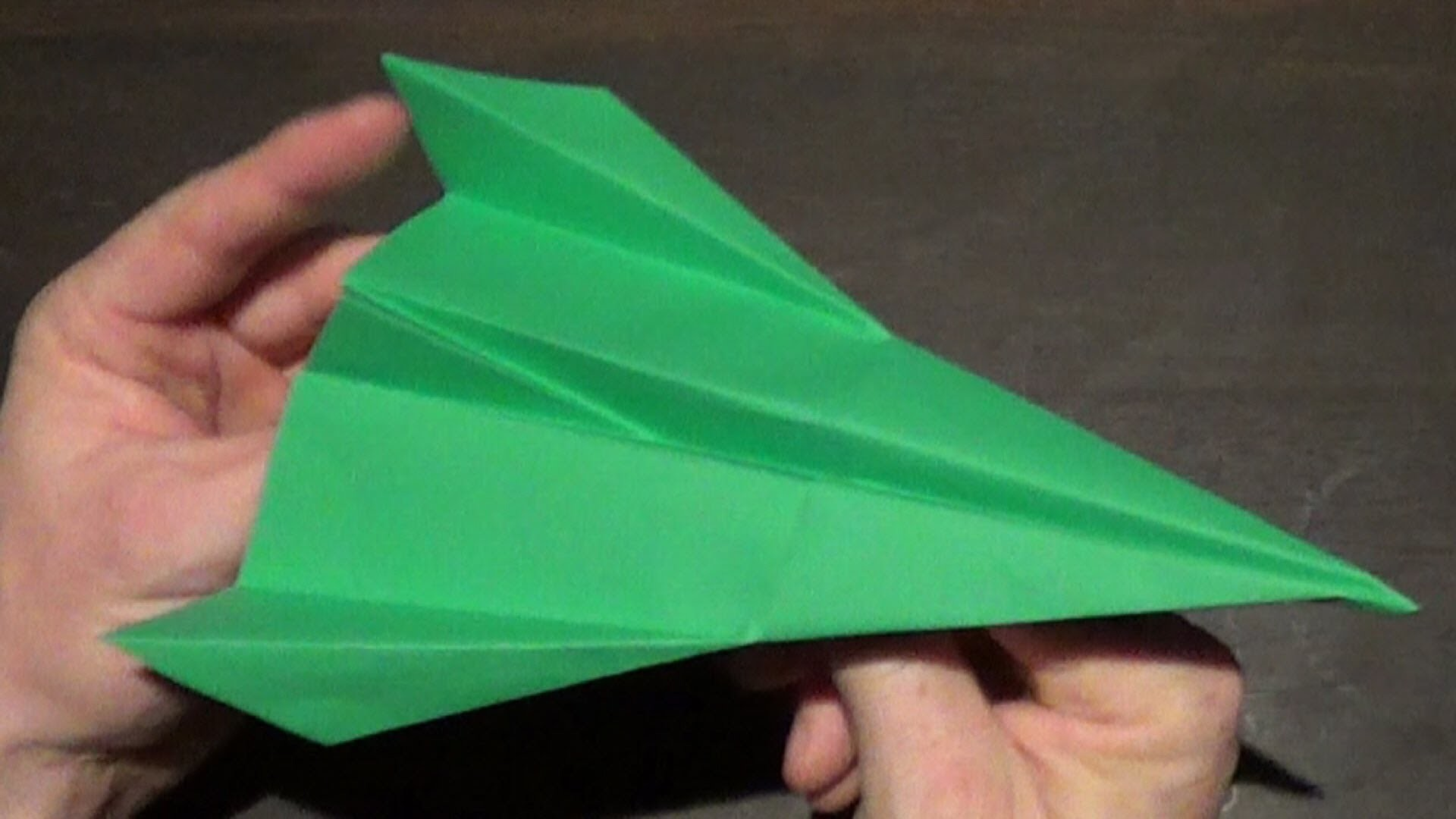 Awsome paper airplaneTutorial  - How to make a Slick Paper Airplane