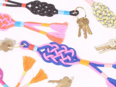 Box Knot Keychain Craft - DIY Style with Erin Furey - Martha Stewart
