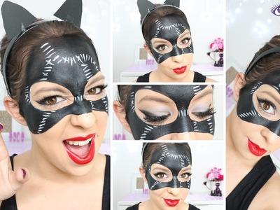 Catwoman Mask Makeup Tutorial by EyedolizeMakeup