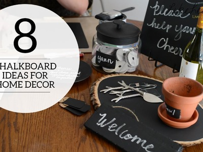 Chalkboard Paint: Multiple Uses for Home Decor