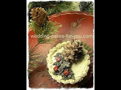 Christmas Cake Decorating Idea