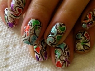CUTE Abstract Nails Design for Spring and Summer! #107