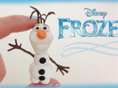 Disney Frozen Olaf Polymer Clay Tutorial
