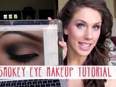 Dramatic Smokey Eye Makeup Tutorial | Cassandra Bankson
