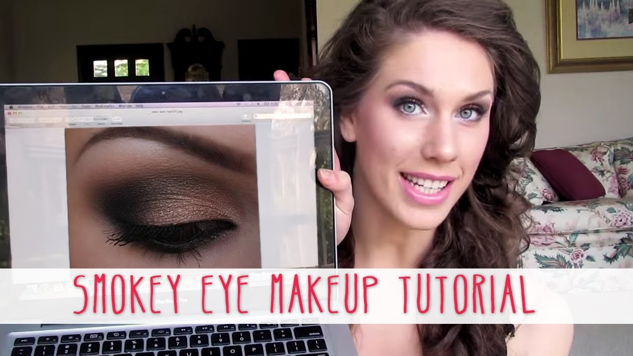 Dramatic Smokey Eye Makeup Tutorial | Cassandra Bankson