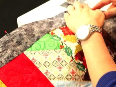 Finishing A Quilt Part 3- Adding Binding