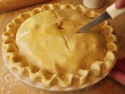 Food Wishes Recipes - How to Make Pie Dough - Pie Crust Recipe