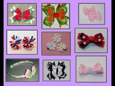 Great Ideas for Unique Bows that You Can Learn How to Make Free