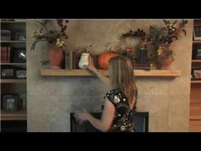 Home Decorating  : How to Decorate a Fireplace Mantle for Fall