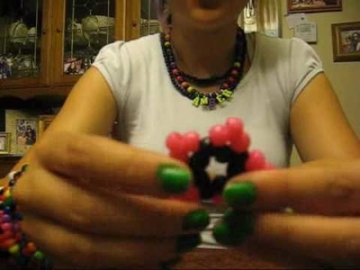 How to do a 3D kandi star part 1