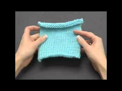 How to Knook: Stockinette Stitch (Left Handed)