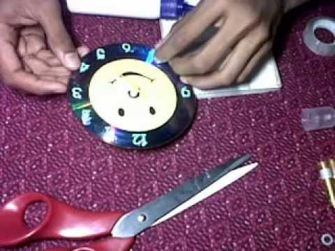 How to make a 3D clock